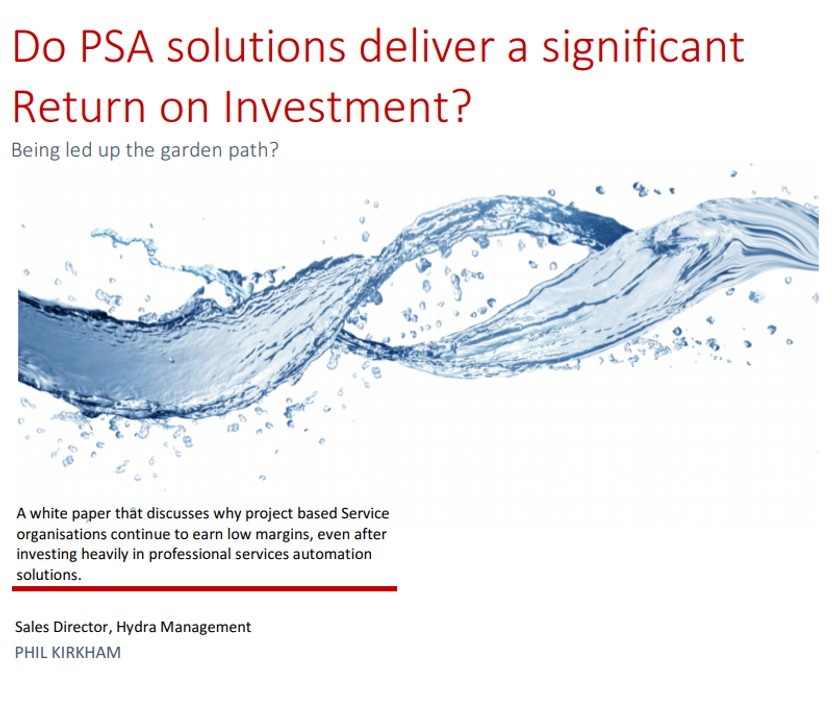 Do PSA solutions deliver a significant ROI