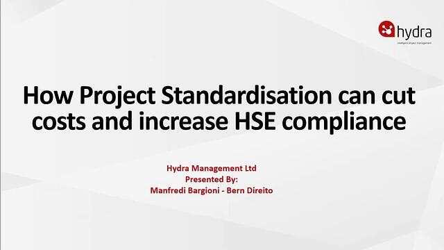 The benefits of standardisation through project management software