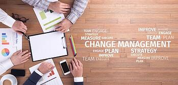 How to implement a change management process people discussing