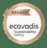 Hydra Ecovadis Bronze Rating 2021 logo png