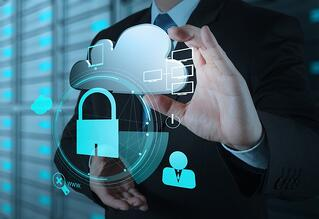businessman hand show 3d cloud icon with padlock as Internet security online business concept-1.jpeg