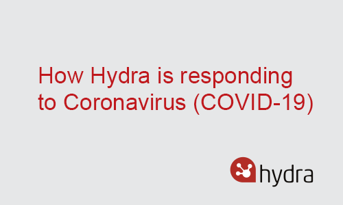 Update: How Hydra is responding to Coronavirus (COVID-19)